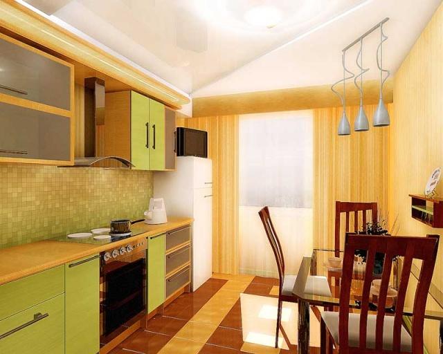 208Кухня ремонт дизайн в квартире